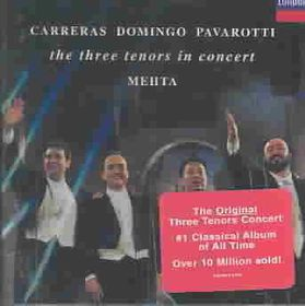 Pavarotti/Carreras/Domingo - In Concert 7Th July 1990 (CD)