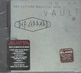 Def Leppard - Vault - Def Leppard Greatest Hits (CD)
