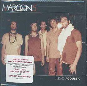 Maroon 5 - Accoustic (CD)