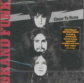 Grand Funk Railroad - Closer To Home - Remastered (CD)