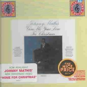 Johnny Mathis - Give Me Your Love For Christmas (CD)