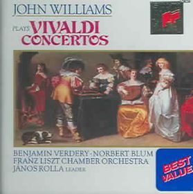 John Williams - Vivaldi Guitar Concertos (CD)