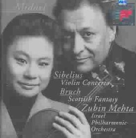 Midori - Violin Concerto / Scottish Fantasy (CD)