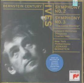 New York Philharmonic Orchestra - Symphonies Nos. 2 & 3 The Camp Meeting, Bernstein Discusses Ives (CD)