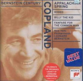 New York Philharmonic Orchestra - Appalachian Spring, Rodeo, Four Dance Episodes, Billy The Kid, Fanfare For The Common Man (CD)