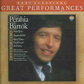 Perahia Murray - Sonata / Improvisations On Hungarian Peasant Song (CD)