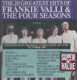 Four Seasons - 20 Greatest Hits - Live (CD)