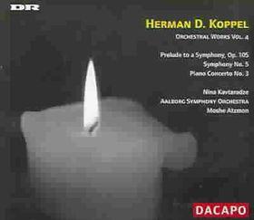 Kavtaradze/aalborg So/atzmon - Koppel: Orch Works Vol.4 (CD)