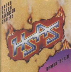 Hagar, Schon, Aaronson, Shrieve - Through The Fire (CD)