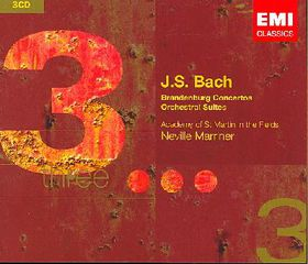 Marriner Neville - Brandenburg Concerto (CD)