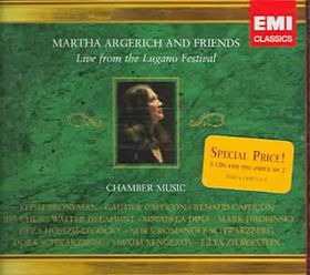 Argerich Martha & Frien - Live From The Lugano Festival (CD)