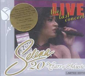 Selena - Live! The Last Concert - Ltd Edition (CD)