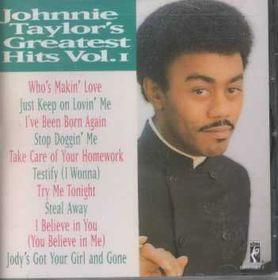 Johnnie Taylor - Greatest Hits - Vol.1 (CD)