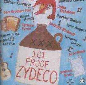 101 Proof Zydeco - (Import CD)