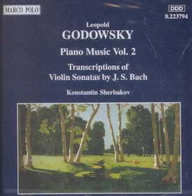 Godowski - Piano Music Vol 2;Sherbakov (CD)