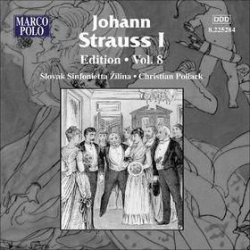 Strauss Johann - Edition - Vol.8 (CD)