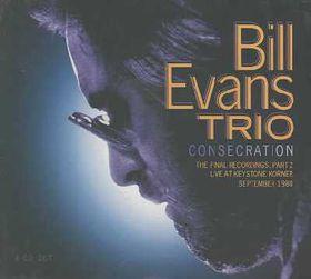 Bill Evans - Consecration (CD)