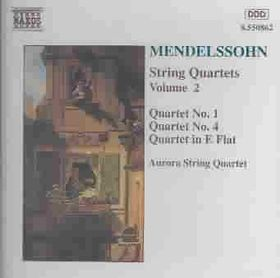 Mendelssohn - String Quartets Op.44 Nos.1 & 2 (CD)