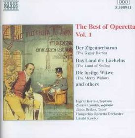 Hungarian Operetta Orchestra - Best Of Operetta Vol.1 (CD)