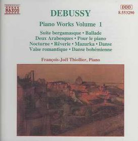 Francois Thiollier-Joel - Piano Works Vol.1 (CD)