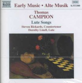 Campion, Thomas:lute Songs - Lute Songs (CD)