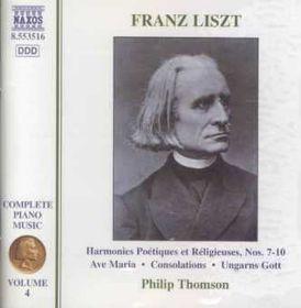 Liszt:Complete Piano Music Vol 04 - (Import CD)