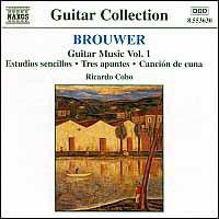 Leo Brouwer - Guitar Music - Vol.1 (CD)