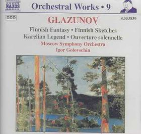 Moscow Symphony Orchestra - Finnish Fantasy & Sketches (CD)