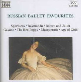 Russian Ballet Favourites - Various Artists (CD)