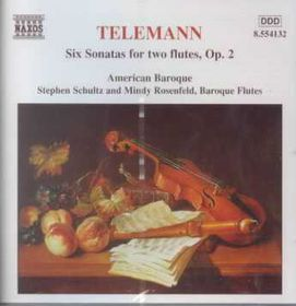 Sonatas For 2 Flutes Op. 2 - Various Artists (CD)