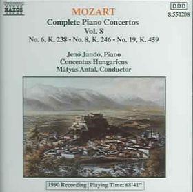Mozart:Piano Concertos Vol 8 - (Import CD)