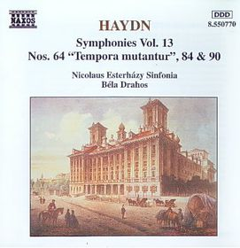 Nicolaus Esterhazy - Symphonies Nos. 64, 84 & 90 (CD)