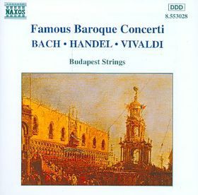 Various - Famous Baroque Concerti (CD)
