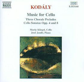 Kodaly:music For Celo - Music For Cello (CD)