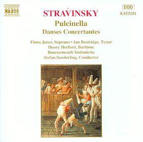 James / Bostridge / Gerelo / Bournemouth Sinfonietta - Pulcinella / Danses Concertant (CD)