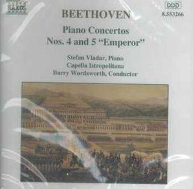 Beethoven:Piano Ctos. 04 & 05 - (Import CD)
