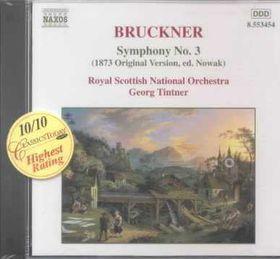 Bruckner - Symphony No 3 Tintner (CD)