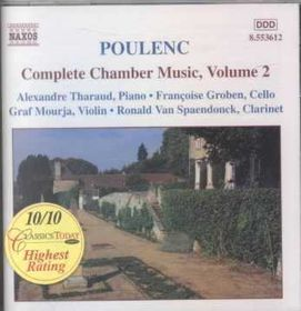 Poulenc:Complete Chamber Music Vol 02 - (Import CD)
