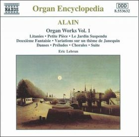 Alain - Organ Works Vol 1 - Lebrun (CD)