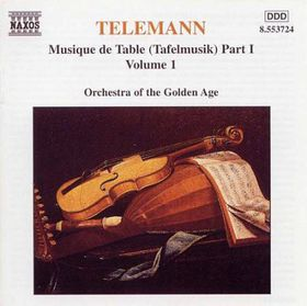 Orchestra Of The Golden Age - Tafelmusik Vol. 1 (CD)