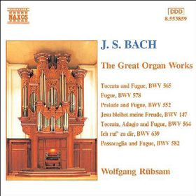 Bach J S - The Great Organ Works (CD)