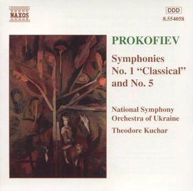 "National Symphony Orchestra Of Ukraine - Symphonies Nos. 1 ""Classical"" & 5 (CD)"