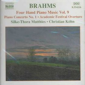 Piano Concerto No. 1 / Academic Festival Overture - Various Artists (CD)