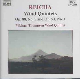 Michael Thompson Wind Quintet - Wind Quintets Op.88, Op 91 (CD)