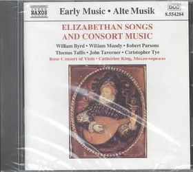 Elizabethan Consorts & Dramatic Songs - Various Artists (CD)