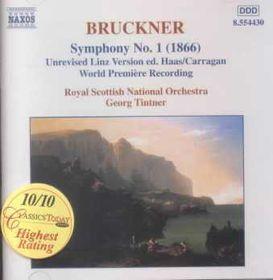 Bruckner:symphony No 1 - Symphony No.1 (CD)