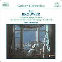 Leo Brouwer - Preludios Epigramaticos (CD)