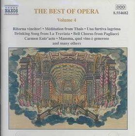 Best Of Opera - Vol.4 - Various Artists (CD)