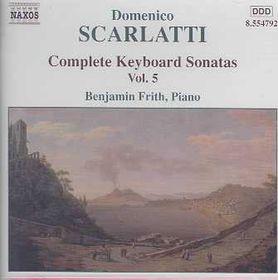 Benjamin Frith - Keyboard Sonatas - Vol.5 (CD)