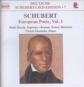Schubert - Songs By European Poets Vol.1 (CD)